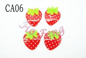 塑膠片-草莓  CA06-20