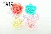 塑膠-玫瑰  CA19