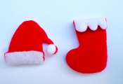CLF1615 聖誕襪與帽子