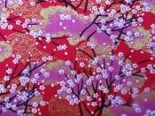 A68A  山櫻 紅色