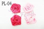 FL04    緞帶玫瑰花