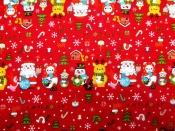 CRSM  501A クリスマス生地
