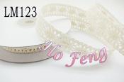 米色蕾絲  LM123 16mm