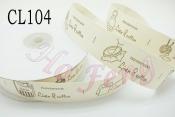 布標  CL104 Hand Made 2.5cm