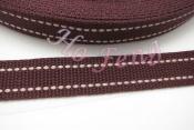 雙跳線棉織帶 PB01-C 2.5cm
