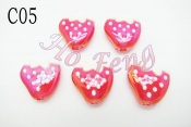 塑膠珠- C05R 草莓 15mm