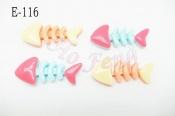 貼飾 E-116 魚骨頭