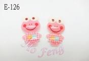 貼飾 E-126  微笑青蛙