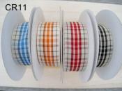 格子織帶  CR-11 2.5cm