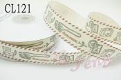 布標  CL121 航空郵件 2cm