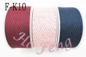 V型條紋帶 F-K10 4cm