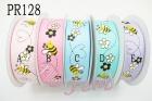 特多龍印刷帶  PR128 花朵蜜蜂