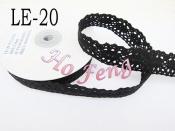 黑色蕾絲  LE-20 23mm