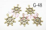 金屬掛件 G-48 船舵