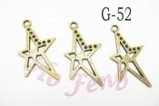 金屬掛件 G-52星星