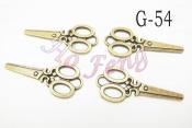 金屬掛件 G-54 剪刀