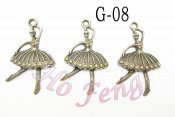 金屬掛件 G-08 芭蕾女孩