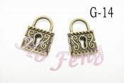 金屬掛件 G-14 鎖頭