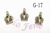 金屬掛件 G-17 小皇冠