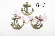 金屬掛件 G-13 船錨