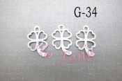 鋅合金 G-34 四葉草