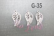 鋅合金 G-35 樹葉
