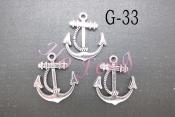 鋅合金 G-33 船錨