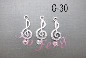 鋅合金 G-30 音符